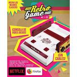 Consola Retro Game Juegos, Netflix, Android, Hd, Av Smart Tv