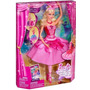 Muñeca Barbie Zapatillas Magicas Mattel Jugueteria Aplausos