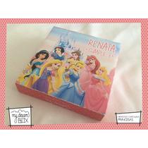 Souvenir Evento Personalizado Memotests Princesas Disney