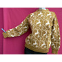 Sweater Pullover Mujer Tejido Doble Impecable M Fortu13