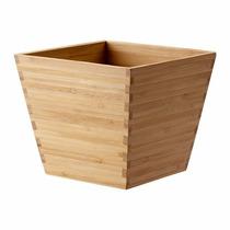 Ikea - Porta Macetas Sueco Vildapel De Madera De Bambú