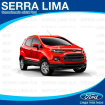 Ford Ecosport Se 1.6 0km 2016 Hot Sale !! - Serra Lima