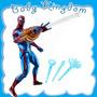 Spider Man-muñeco Hombre Araña Electronico De Lujo Original.