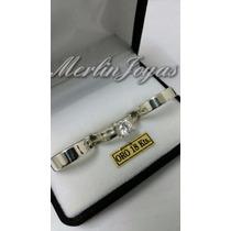 Combo Alianzas Oro Blanco Y Cintillo Oro18k -8 Gramos- M. J.