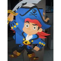 Piñata En Goma Eva Capitan Jake