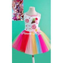 Disfraz Princesa Hada Bailarina Tutu Katty Perry Candy