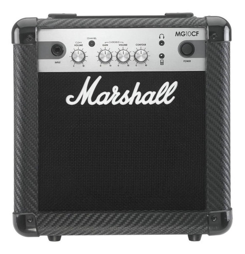 Amplificador Marshall Mg Series Mg10cf 10w Transistor Negro
