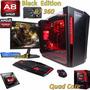 Pc Full Gamer Cpu Amd A8 7650k Asus Msi+ R7 360 2gb 1tb 8gb