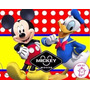 Kit Imprimible Candy Bar Mickey Mouse Y Donald Golosinas