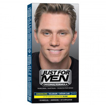 Just For Men Shampoo Color Castaño Oscuro Cubre Canas