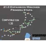Argenmapis V21.0 Expansion Misiones 1.35  [oficial]
