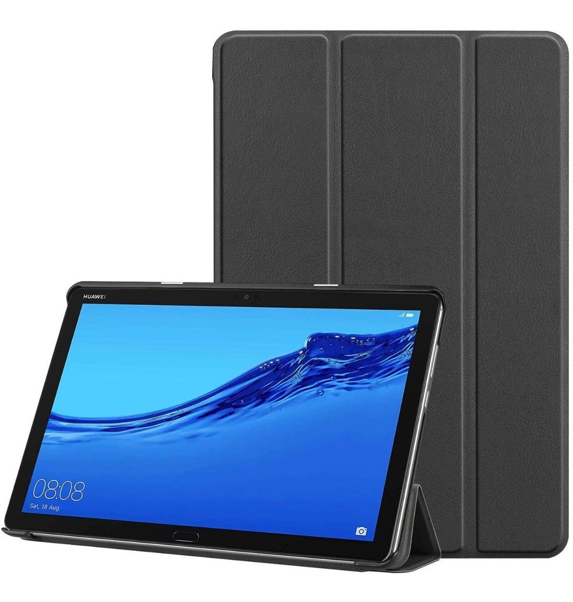 FUNDA SMART COVER MEDIAPAD M5 LITE NEGRO