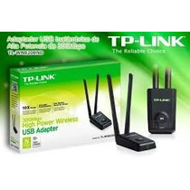 Placa Red Tp Link Usb Wifi 8200nd 2 Wats Largo Alcance