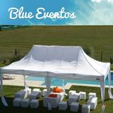 Alquiler Gazebos Carpas Living Calefaccion Piso Blue Eventos