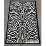 Alfombra Moderna Animal Print Cebra 60x100cm Kreatex