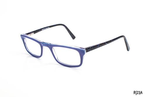 09eb3151f6 Armazones Anteojos Gafas Acetato Con Flex Zafhir R527