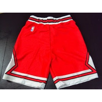 Shorts Lakers Spurs Bulls Heat Celtics Licencia Oficial Nba