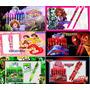 10 Anotadores Souvenir Dragon Ball, Cars, Spiderman, Monster