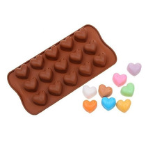 Molde Silicona Chocolate Corazon Bombones