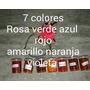 7 Anilinas Para Teñir Goma Eva O Foami En Alcohol O Tiner