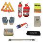 Kit Reglamentario Emergencia Auto Matafuego Linterna 9 En 1