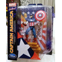 Disney Store Marvel Select Capitan America De 30 Cm Unico!!!