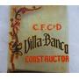 Historical*- Berisso Cartel Vidrio Club Villa Banco -envío