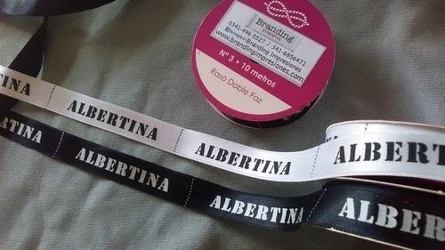 32e4ef581 Etiquetas Impresas Falletina raso gross Poliester 1cm 1