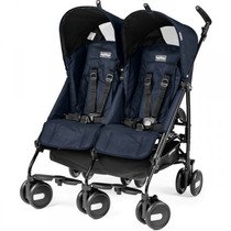 Coche Mellizo Peg Perego Pliko Mini Twin Distrimicabebe