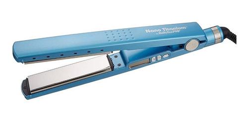 Planchita De Pelo Babyliss Pro 2091 Azul Con Placas De Titanio 220v - Babnt2091t