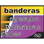 Banderas Impresas Para Egresados, Clubes, Publicitarias, Etc