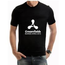Creamfields / Sonar Bs As - Remeras Premium Hmbre/muj