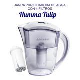 Jarra Humma Tulip Aprobada A.n.m.a.t. Con 4 Filtros.