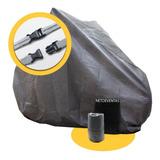 Funda Cubre Moto T 1 Y 2  Impermeable Fácil Colocacion