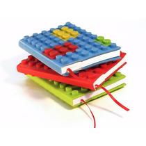 Anotador Cuaderno Forma Lego