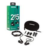 Auriculares Shure Se215 K Uni Earphones Negro Microfono