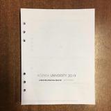 Repuesto De Agenda 2019 N8 Dia Por Pagina 22,2 X 16,8 Cm
