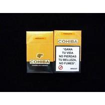 Atado De Cigarrillos Cubanos Cohiba Predilecto Box X 20 Cig.