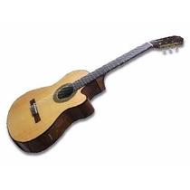 Guitarra Clasica Criolla Gracia Mod Wilde Jr C/ Eq C/ Corte