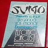 Sumo   Show  Llegando Los Monos  Electric Circus Años 80