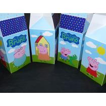 Milk Box Carameleras Cars Personalizadas C/cierre De Sticker