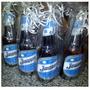 Souvenir Cerveza Quilmes Personalizada Pack 12 Porrones 1 Lt
