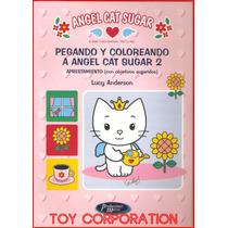 Pegando Coloreando Angel Cat Sugar 2 Aprestamiento Objetivos