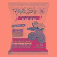 NutriCookie Integral de Coco Sem Glúten 35g - NutriPleno