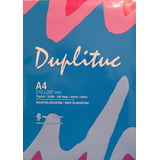 Resma Duplituc A4 70gr  Villa Urquiza