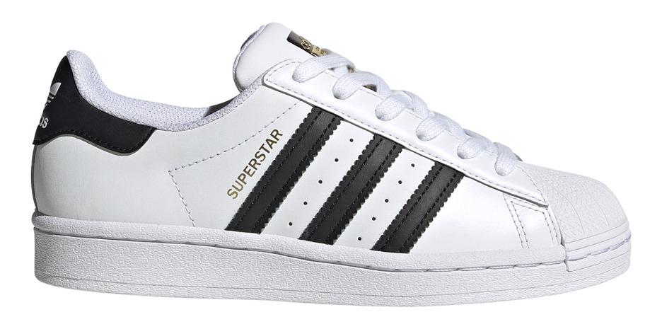 Zapatillas adidas Originals Moda Superstar J Bl/ng