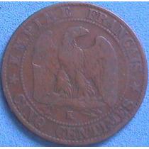 Spg - Francia 5 Centimes 1863 K.