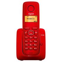 Teléfono Inalambrico Gigaset A120 Rojo Oferta Navideña!
