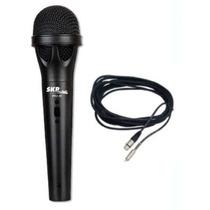 Microfono Profesional Dinamico Skp Pro40 + Cable - La Roca