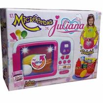 Set Cocinera Con Microondas Juliana Con Delantal Original
